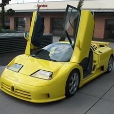 Bugatti EB 110 Super Sport Михаэля Шумахера