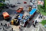 ДТП с троллейбусом в Киеве: пострадали 11 детей