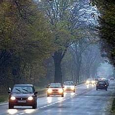 ГАИ предупредила водителей об опасности на дороге из-за непогоды