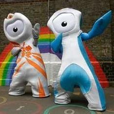Символы Олимпиады-2012 в Лондоне